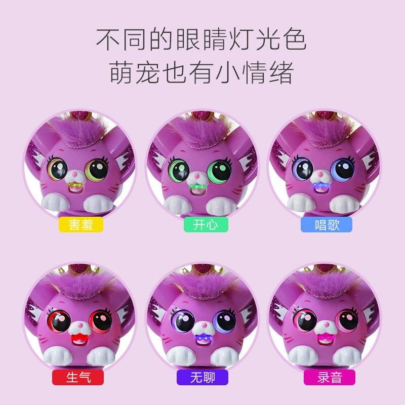 Heart Odd Smart Cute Pet Joy Pet GIRL'S Model Kitten Electronic Pet Interactive CHILDREN'S Toy Novelty Bracelet