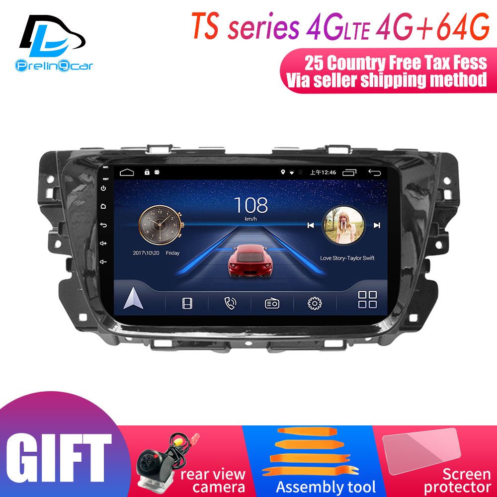 4G LTE WIFI Android 9.0 Car Gps Multimedia Video Radio Player In Dash For MG GS 2017 Years Navigation Stereo