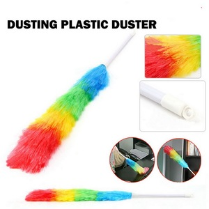 2020 HOT Selling Soft Microfiber Cleaning Duster Dust Cleaner Handle Feather Static Anti Magic Household Cleaning Tools
