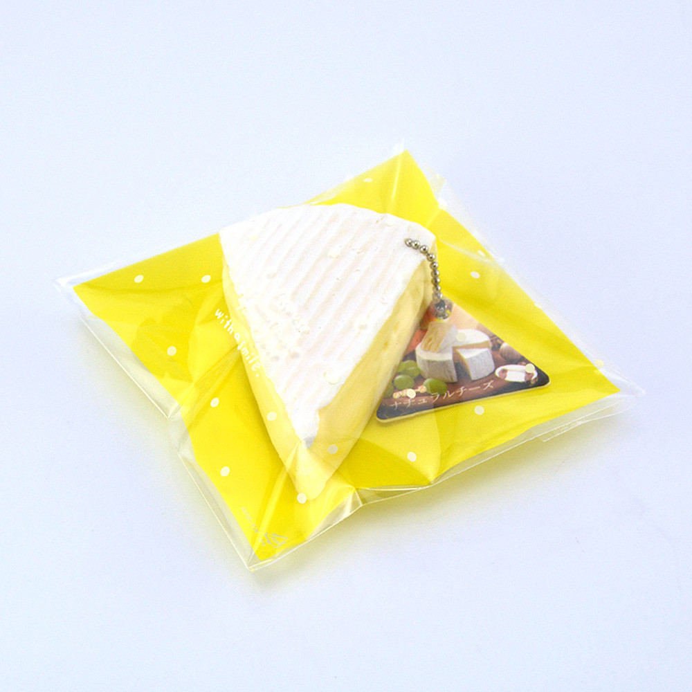 2020 NEW  Squishy Squeeze Stress Reliever Simulation Cheese Scented Slow Rising 7cm Toys