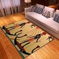 Древний Египет 3D коврики с принтом для гостиной коврик для домашнего декора детская комната Игровая палатка коврики детская спальня большо...