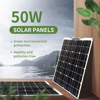 200W 100W Flexible Solar Panel Kit for Home Solar Power System for Camping Car 12V 16V 24V Solar Charger Cell Energy Sytem xinpuguang 600w solar system kit 6 100w solar panel monocrystalline silicon cell photovoltaic module home roof power generation