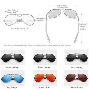 Image 2 - Óculos de sol polarizado para mulheres, 2 peças, amantes kingseven venda combinada óculos de sol unissex uv400 sol sol