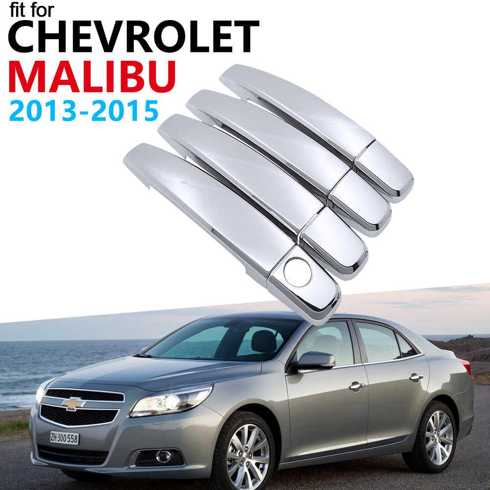 Роскошный хромированный Внешний Набор для отделки ручки для Chevrolet Malibu 2013 2014 2015 наклейки для автомобиля 2013 ~ 2017 наклейки (Россия)