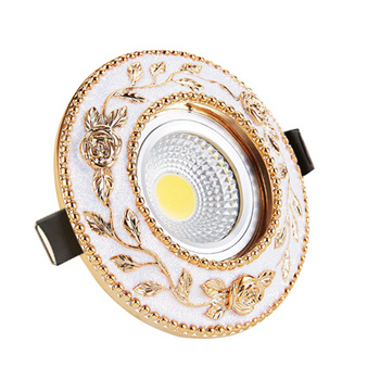 Dimmable LED Downlight 7W 9W Spot DownLights cob Recessed down lights for living room 110v 220v
