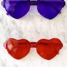 10 шт. в упаковке, очки для цветной терапии в форме сердца, Chakra Mood светильник, терапевтические хромотерапевтические очки для женщин и мужчин, ...