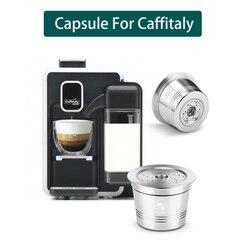 Dla Caffitaly Tchibo kapsułka z kawą wielokrotnego użytku kompatybilny z k fee wielokrotnego napełniania kapsułka Crema ubijak do kawy ze stali nierdzewnej w Filtry do kawy od Dom i ogród na