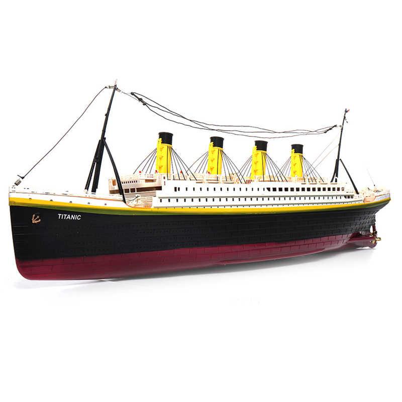 RC Boat 1:325 Titanic Sea Grand Cruise Ship 3D Titanic