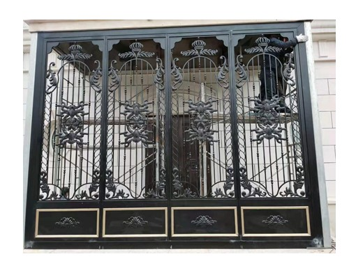 Hench 100% Custom Made Bronze Bar And Wrought Iron Doors For Australia And Unites States Top Villa Decoratives