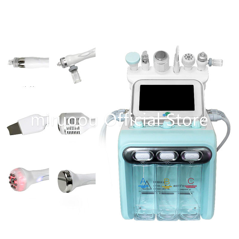 Korea H2o2 Small Bubble Beauty Machine Instrument 6 In 1
