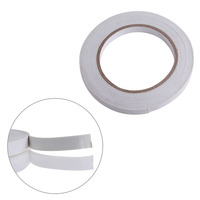 Drop Shipping 5m White Double Sided Strong Sticky Self Adhesive Foam Tape Mounting Fixing Pad