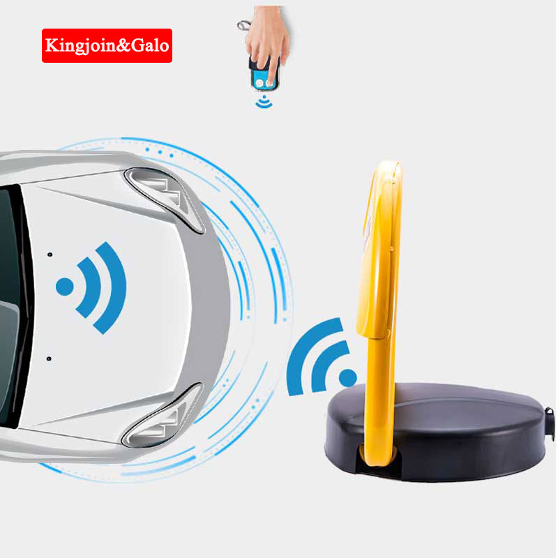 High Quality Car Intelligent Remote Control Parking Lock Thickened Anti-collision Garage Parking Lot Lock With Sensor Lighter