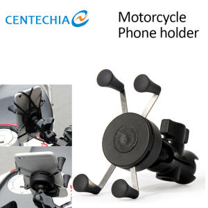 Phone-Holder Mount-Clamp Motorcycle-Accessorie Bicycle Motocross Gps Motorbike Universal