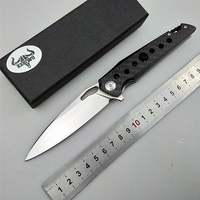 KESIWO Folding knife D2 blade tactical survival camping pocket knives Flipper outdoor rescue hunt carbon fiber handle EDC tools|Knives|   -