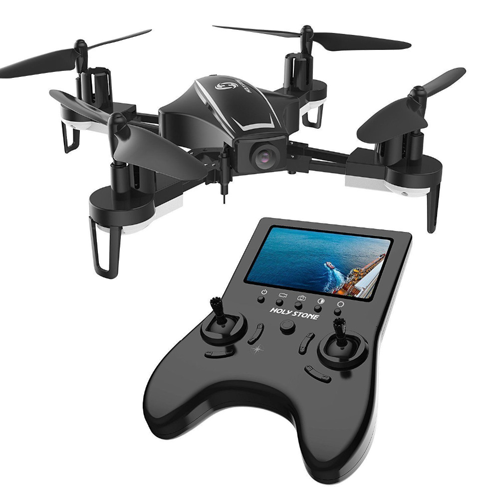 Holy Stone HS230 RC Drone 5.8GHz FPV Wifi 720P HD Camera Drone High Speed LCD Screen Wind Resistance RC Helicopter Quadrocopter