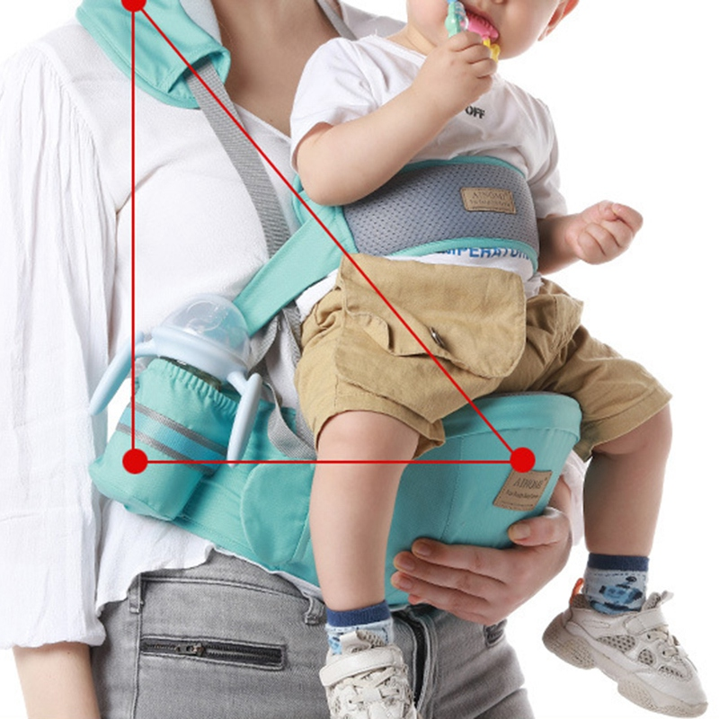 Baby Sling Carrier Walkers Waist Stool Kangaroo Front Facing Newborn Hip Seat Infant Carrier Wrap Pouch Holder Hipseat