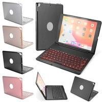 Ultra Slim Backlight Keyboard Cover For iPad 10.2 inch 2019 A2197 A2200 A2198 Aluminum Alloy Funda Case For iPad 7th Gen 10.2