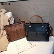 Women Retro Crossbody Bags for Women Fashion Shoulder Bag Messenger Shoulder Bag PU Leather Casual Large Capacity Handbag