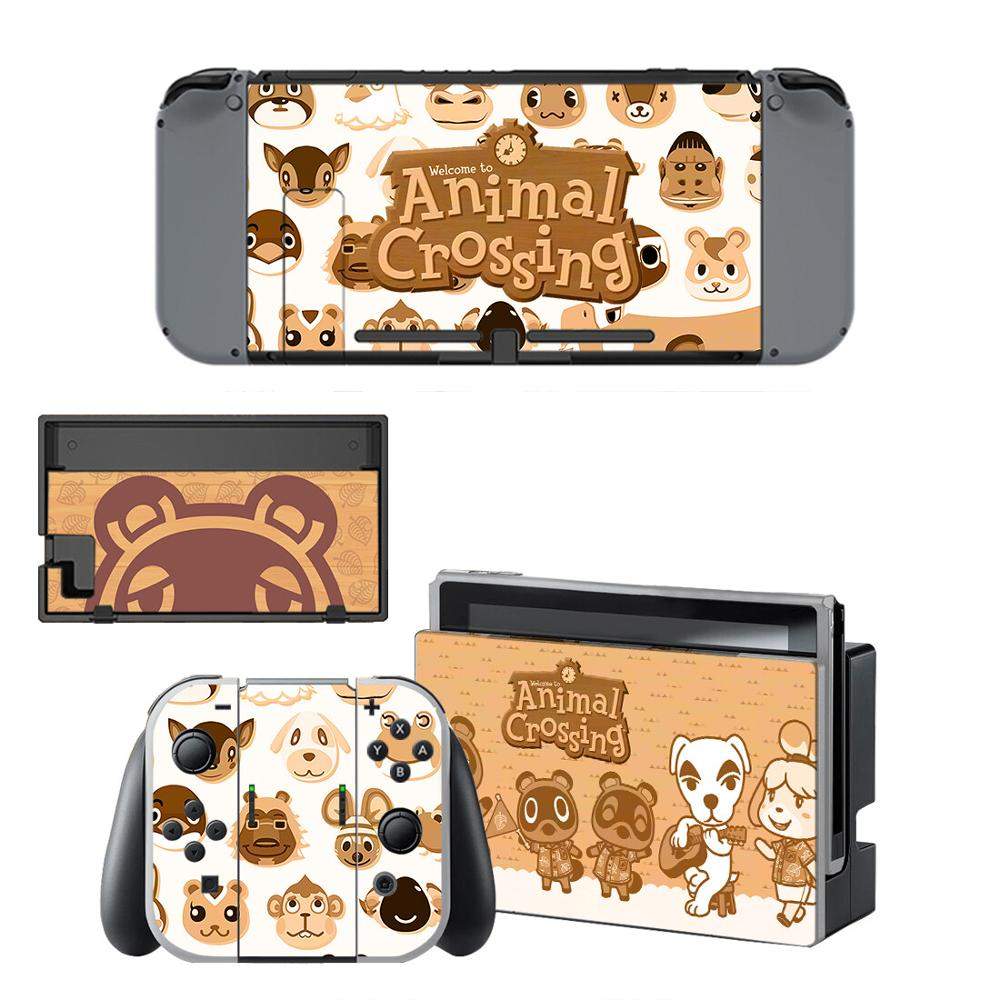 Nintendoswitch Stickers Animal Crossing Switch Skin Nintend Switch Sticker For Nintendo Switch Console,Joy-Con,Controller