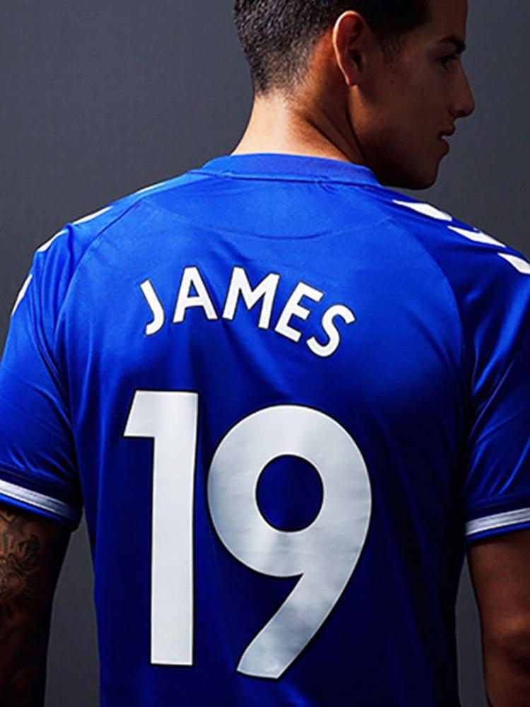 Jerseys Shirt Tee James Customized Homme Everton High-Quality Women Walcott 21 Fan ID