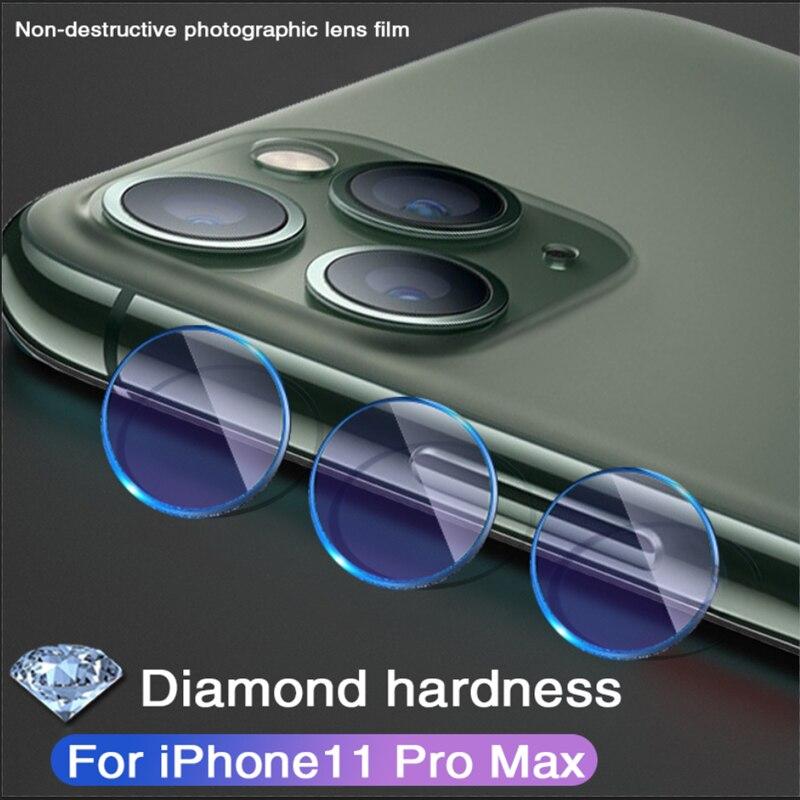 Sapphire Diamond Grade Non Destructive Lens For Iphone X XS MAX XR Protective Glass Camera For Iphone11 Pro Max Back Camera Film