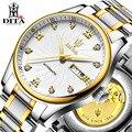 Мужские часы лучшего качества Relojes DITA Брендовые мужские водонепроницаемые полые автоматические механические часы из нержавеющей стали ...