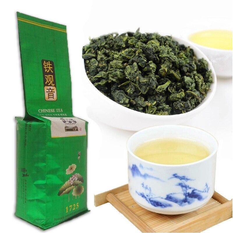 250g Fujian Anxi Tie Guan Yin Weight Lose Tea Superior Oolong Tea 1275 Organic Green Tie Guan Yin Tea China Green Food
