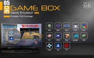 Goldensky G6 игровая консоль с 2,4G беспроводным контроллером HDMI видео игровая консоль 2323 классические игры для GBA family tv Ретро игры