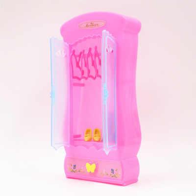 Phối Phụ Kiện Búp Bê Kệ Nhà Chơi Đồ Mini Xoay Chơi Đồ Chơi Cho Búp Bê Barbie Trẻ Em Quà Tặng Giáng Sinh DIY Educationtoys
