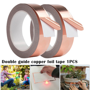 30mm Waterproof Electrical tape Pure Copper Tape Self-Adhesive High Temperature Resistance Anti-Radiation Hand Tools