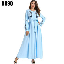 BNSQ Out code Clearance Cheap Sale Muslim Abayas Dresses Turkey Pakistani Arabic Caftan Kaftan Moroccan Women Clothes(China)