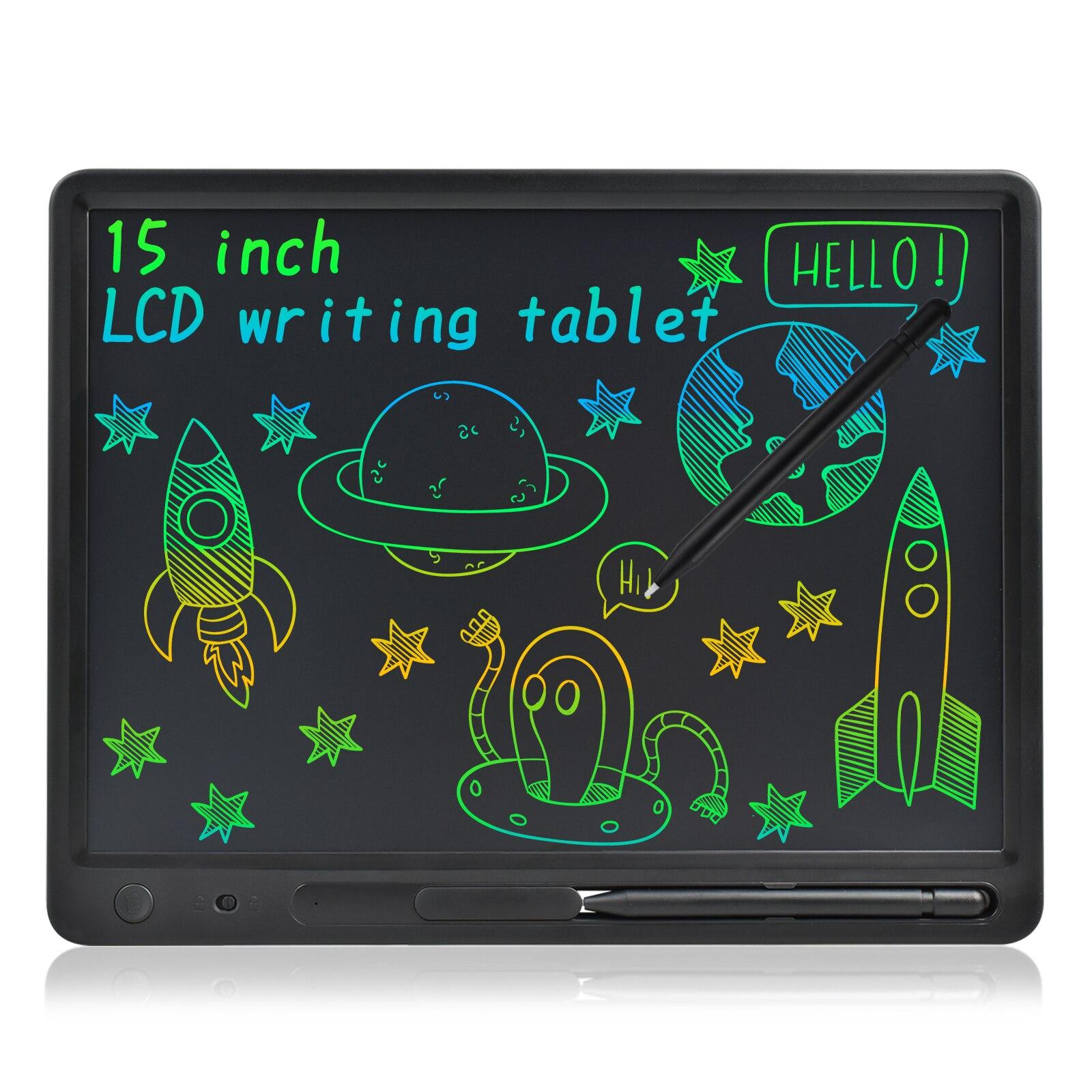 10-15 дюймов широкоформатный Размеры ЖК-дисплей планшет для письма электронные графический планшет коврик для офиса Memo доски для взрослых об...