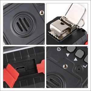 Image 5 - RZ compud 가스 모니터 LCD 디스플레이 충전식 다기능 4 in1 가연성 O2 H2S CO 가스 센서 사운드 라이트 진동 알람