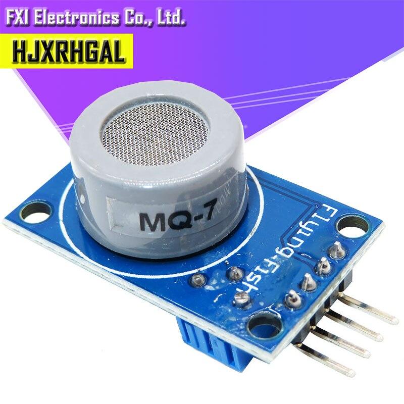 1 Uds. MQ-7 Módulo de sensor de CO de monóxido de carbono módulo de detección y alarma de sensor de gas nuevo OkeyTech Sensor de aparcamiento parktronic 4 Sensor de marcha atrás Detector de Radar LED Digital asistencia de aparcamiento sistema de alarma para todos los coches