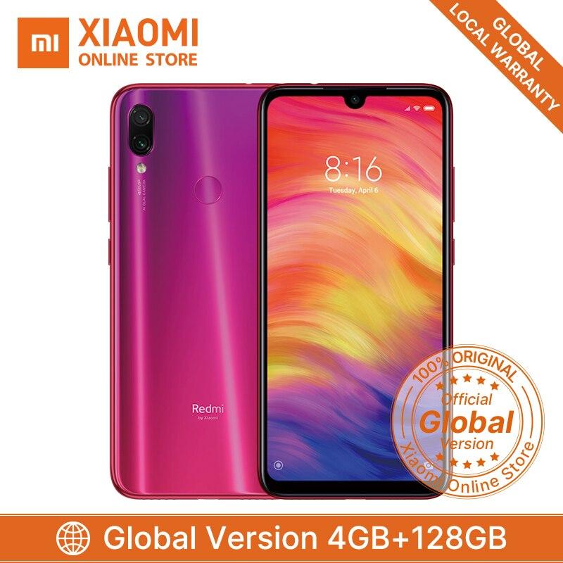 Global Version Xiaomi Redmi Note 7 4GB 128GB Mobile Phone Snapdragon 660 Octa Core 4000mAh 6.3