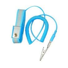 Verstelbare Anti Statische Armband Elektrostatische Esd Polsband Antistatische Polsband Discharge Band Aarding Voorkomen Statische Schok