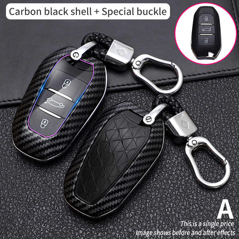 Remote Control Key Fob Case for Citroen C8/with 4/Buttons without Groove
