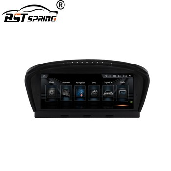 bosstar android navigation gps dvd car multimedia video interface for BMW 5 Series E60 m5 body kit ccc 2005 autoradio image