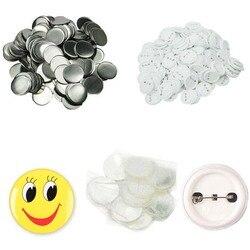 На заказ 100 шт./компл. пластиковая булавка для значков, кнопки, запчасти, принадлежности для одежды, значок, кнопка, сделай сам