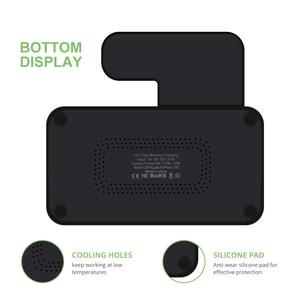 Image 5 - Dcae 4 で 1 ワイヤレス充電ドックステーションチー充電器アップル時計iwatch 5 4 3 2 1 airpods iphone 11 xs xr × 8 サムスン
