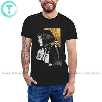 Leon The Professional T Shirt Leon The Professional T-Shirt Short Sleeve Funny Tee Shirt Graphic Men 5x Tshirt