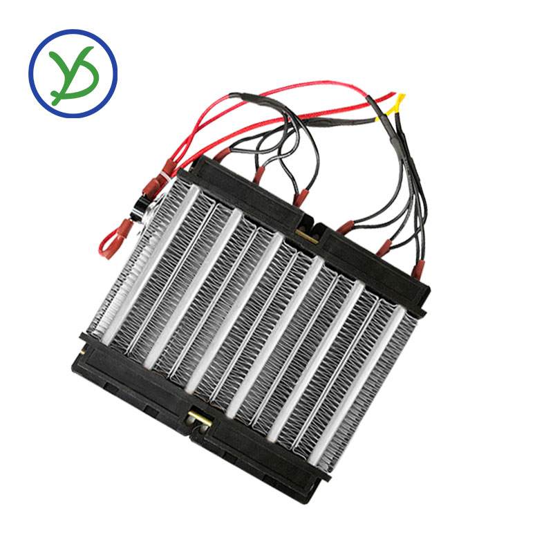 1500W 220V PTC Ceramic Air Heater 140*152mm Electric Heater With Thermostat Protector