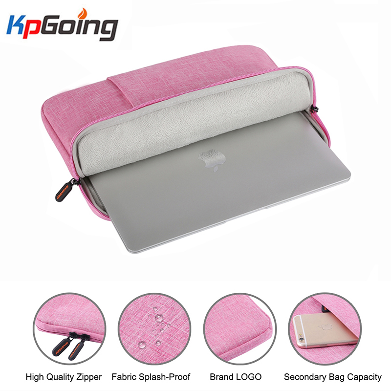 For Apple MacBook Air 13 Pro 13 13 Inch Velvet <font><b>Laptop</b></font> <font><b>Sleeve</b></font> Bag Case for IPad Pro 12.9 2017 2018 2016 2015 Tablet <font><b>Sleeve</b></font> Bag image