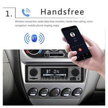 Reproductor de MP3 de Radio con Bluetooth para coche clásico de EE. UU., estéreo USB/AUX, Audio estéreo clásico FM, reproductor de Audio estéreo, coche eléctrico