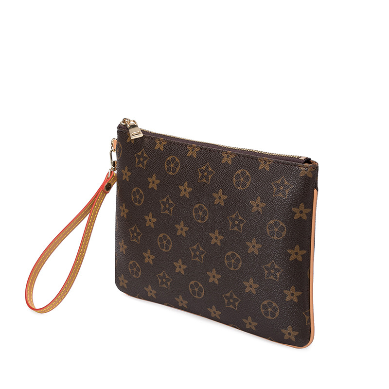 Fashion Printed Clutch 2019 Autumn New Style Versatile Vintage Large Capacity Clutch Bag Men's And Women's Universal Wallet