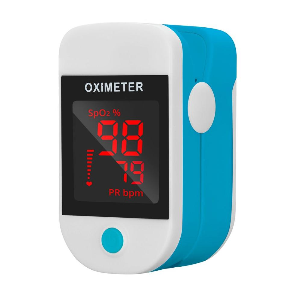 Fingertip Oximeter Automatic Shutdown Oxygen Saturation Pulse Monitoring Family Hospital Oxygen Bar Sports Health