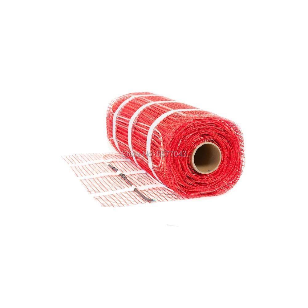 2m2 300w underfloor heating mat for house warming 220V