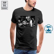 Malcolm X e Muhammad Ali T-Shirt Das Mulheres T Shirt Mulheres Negras Top Women'S T-Shirt Cool T-Shirts Camisa de Grandes Dimensões T Homens Tshirt Branco