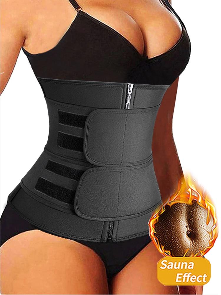Shaper Corset Belt Belly-Reducing-Shaper Waist-Trainer Sweat Slimming Sheath Workout