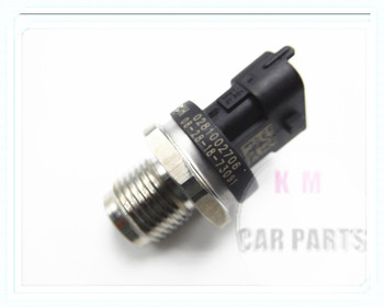 Oryginalny nowy 1800Bar czujnik ciśnienia listwy paliwowej 0281002706 0281002903 0281002937 dla CUMMINS VOLVO IVECO MAN FIAT JACK RENAULT